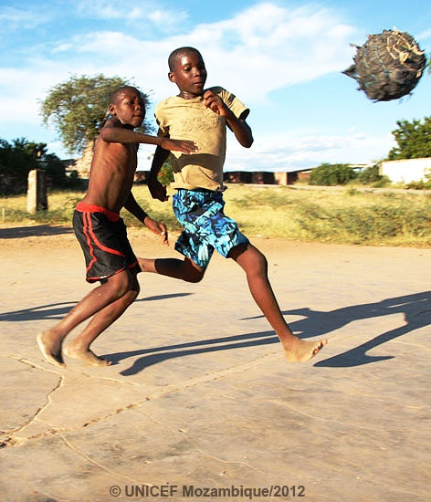 Sport is a vital component for the children's well-being.