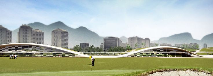 awesome Olympic Golf Course | Jacobsen Arquitetura Check more at http://www.arch2o.com/olympic-golf-course-jacobsen-arquitetura/