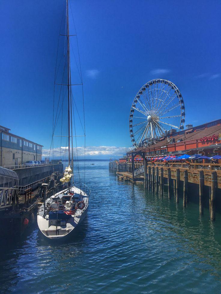Boat Seattle great wheel