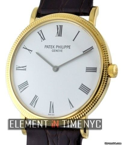 Patek Philippe Calatrava 35mm 18k Yellow Gold Ref. 5120J Price On Request