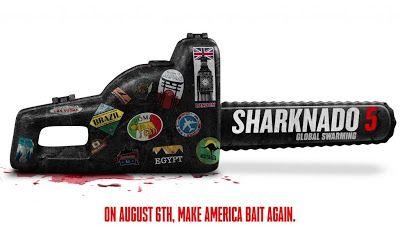 """Horror Town USA: 6/15 Teaser Trailer For """"Sharknado 5: Global Swarm..."""