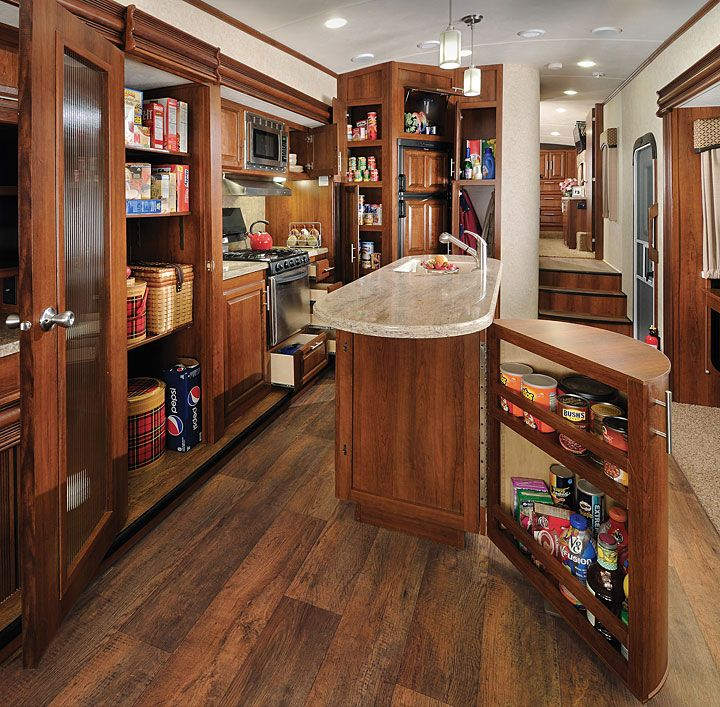 5th wheel floor plans with rear kitchen | Cargo Carrying Capacity 2,016 lbs…