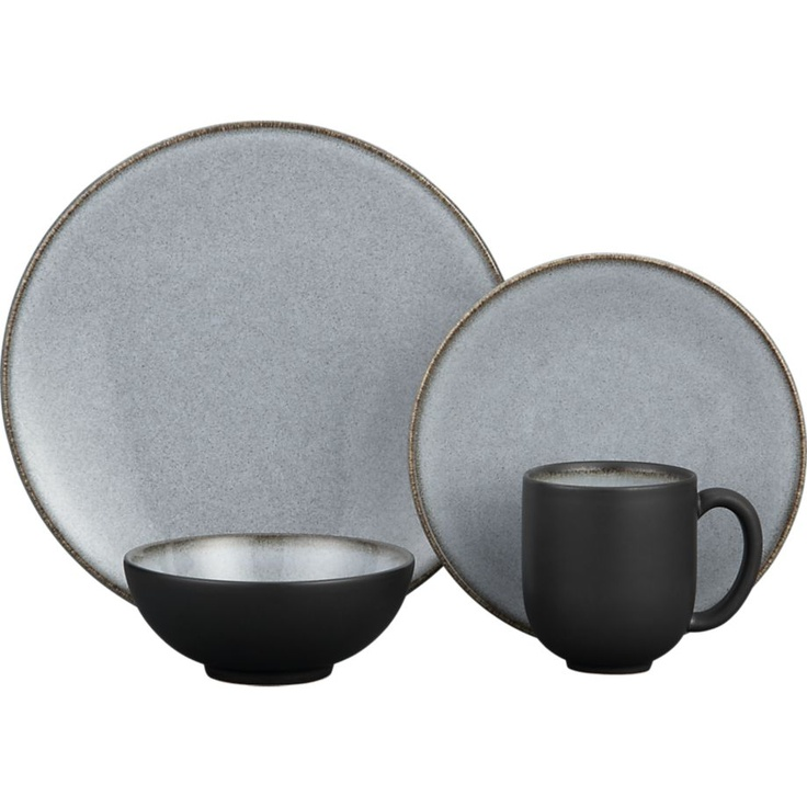 Nuit Dinnerware in Dinnerware Sets | Crate and Barrel  sc 1 st  Pinterest & 10 best Dinnerware I Love images on Pinterest | Dinnerware Dish ...