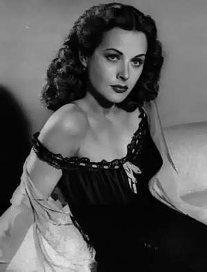 """Clever too...  Hedy Lamarr: film star, scientist, mathematician. The woman who invented technology that makes modern communications like: wi-fi, bluetooth, cordless phones, etc. possible.  """"All creative people want to do the unexpected."""" Hedy Lamarr"""
