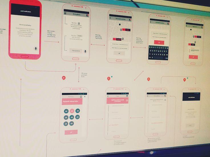 Virgil App Wireframe / hackathon