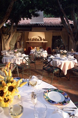 Le Vallauris Restaurant in Palm Springs.