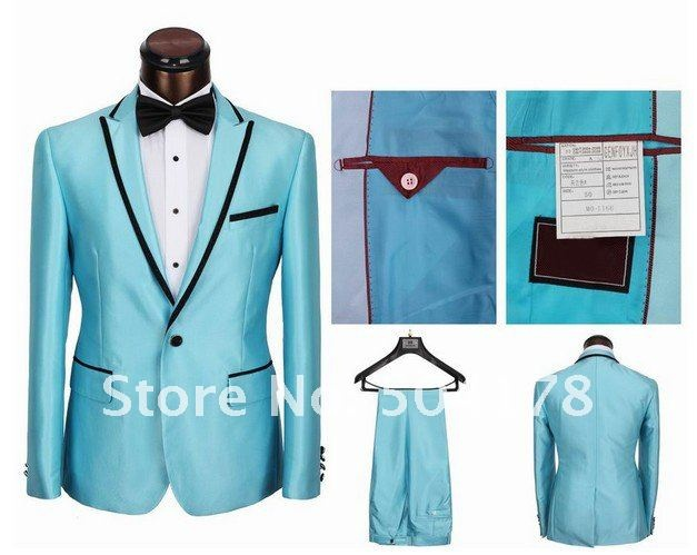 42 best Baby Blue Tuxedos images on Pinterest | Costumes for men ...