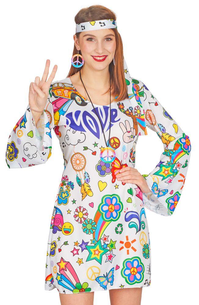 2f57cffac18  schlagermove  Hippiekleid  loveandpeace  love  peace 70er Jahre Kleid love  and peace