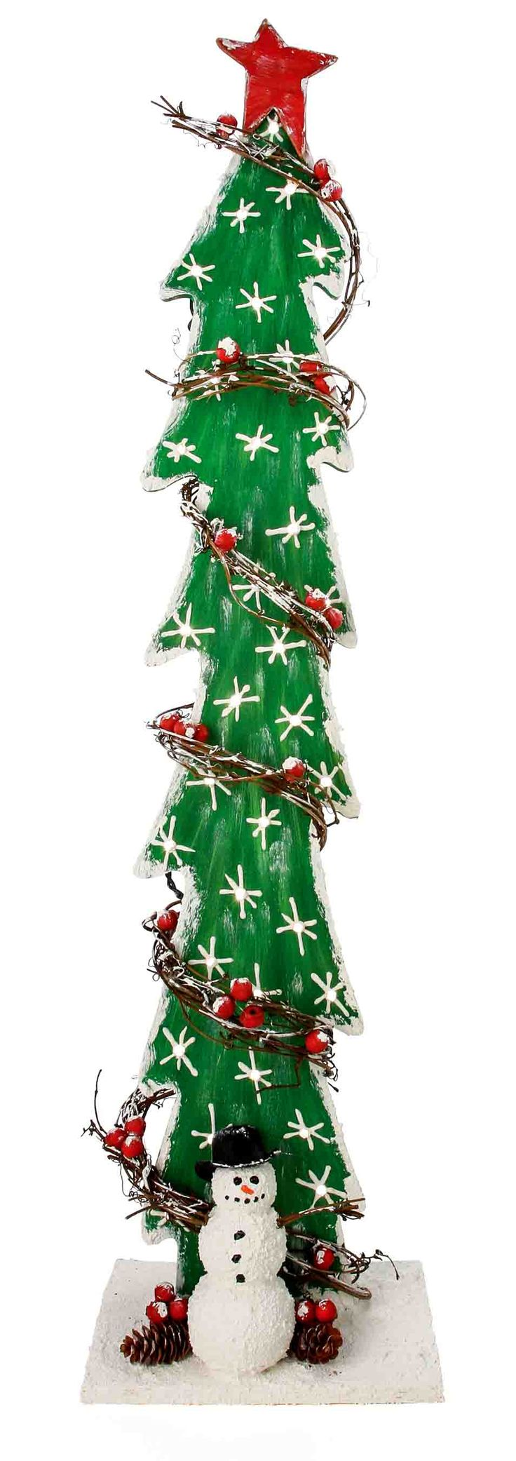 Nicole™ Crafts Lighted Tree With Twigs #christmas #craft