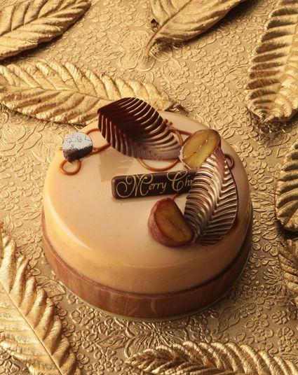クリスマスケーキ栗