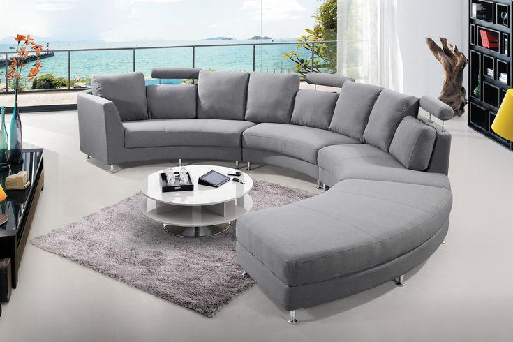 VELAGO - ROSSINI Fabric Circular Sofa