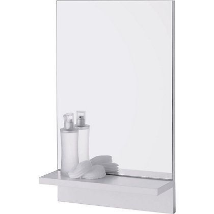 25 best ideas about Bathroom Mirror With Shelf on