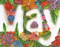 ~wonderful negative space example~ Magazine Illustration for May by sabeena karnik, via Behance