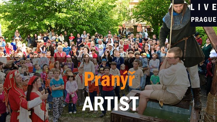 Artist in Prague - Pranýř -  Entertainment plays for the feast of St. We...