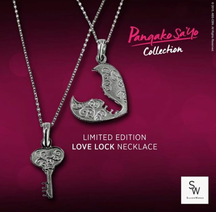 Trending! Limited Edition Pangako Sa Yo Necklace Until Dec 31 Only ...