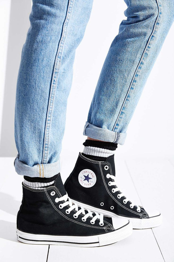 25+ Best Ideas About Black Converse On Pinterest