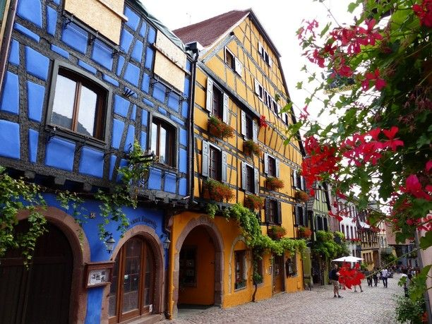 108 Best Images About Riquewihr France On Pinterest: colmar beauty and the beast
