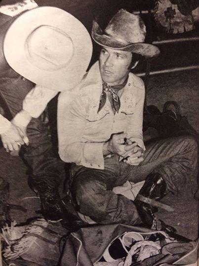 KING OF THE COWBOYS. World Champion cowboy Larry Mahan