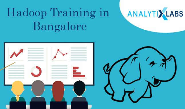 Learning Hadoop – The first choice Learn Hadoop from certified hadoop trainers and get the chance to work on real time projects. Get this opportunity in Bangalore where reliable institutes are set up, which develop relationships with IT companies with good placement track. Indian companies are offers huge salary packages to hadoop professionals. Enroll yourself today with Analytixlabs and give a spark to your career…