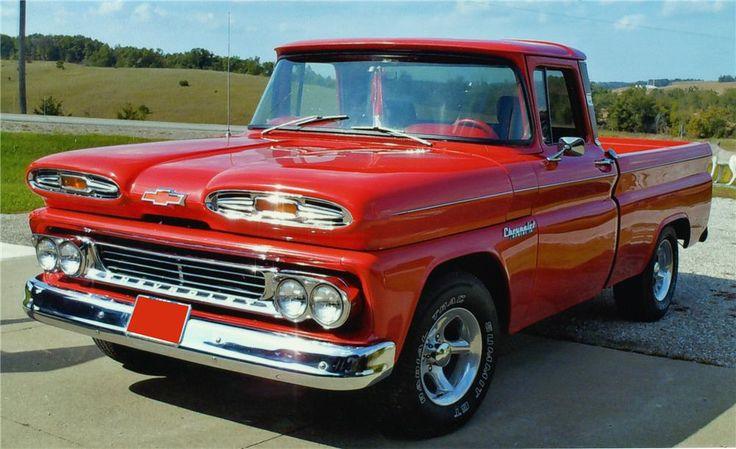 1960 CHEVROLET APACHE FLEETSIDE PICKUP - Barrett-Jackson Auction Company - World's Greatest Collector Car Auctions