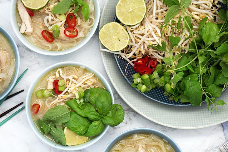 Pho Ga – Vietnamesisk nudelsuppe med kylling