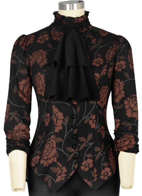 Chic Star Steampunk blouse by Amber Middaugh