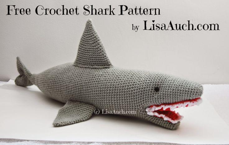 FREE Crochet Shark Pattern | Fergal Sharkey