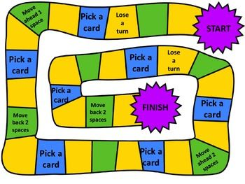 What time is it? Math Board Game | Mrs. Males Masterpieces ...