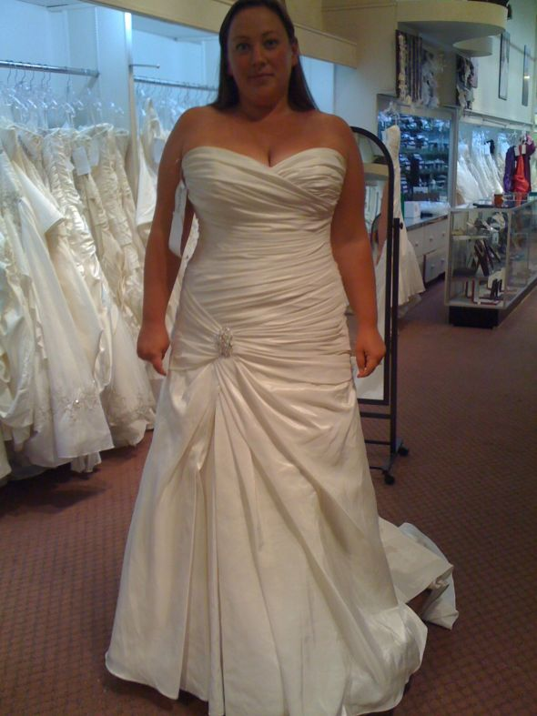 Beautiful Custom Plus Size Wedding Dresses
