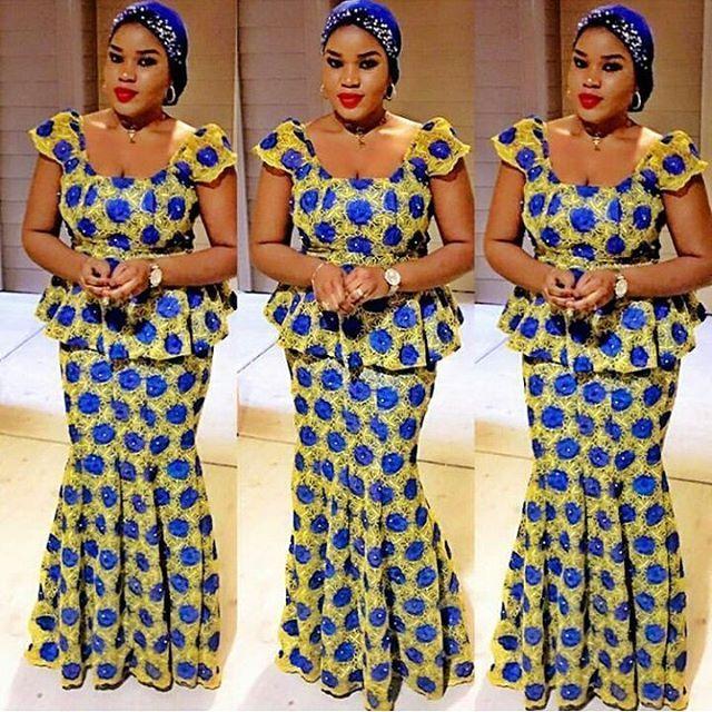 4d2f08fab5b486 Adorable Aso Ebi Ankara styles Collection 2016/2017 #AsoEbimabo Vol 10 |  Maboplus | Matutina in 2019 | African fashion, African fashion dresses, ...