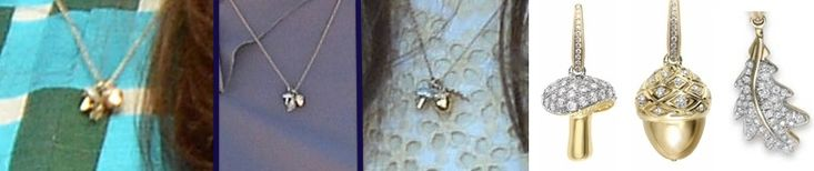 Kate also sported the Asprey charms necklace from the jeweler's Woodlands collection.