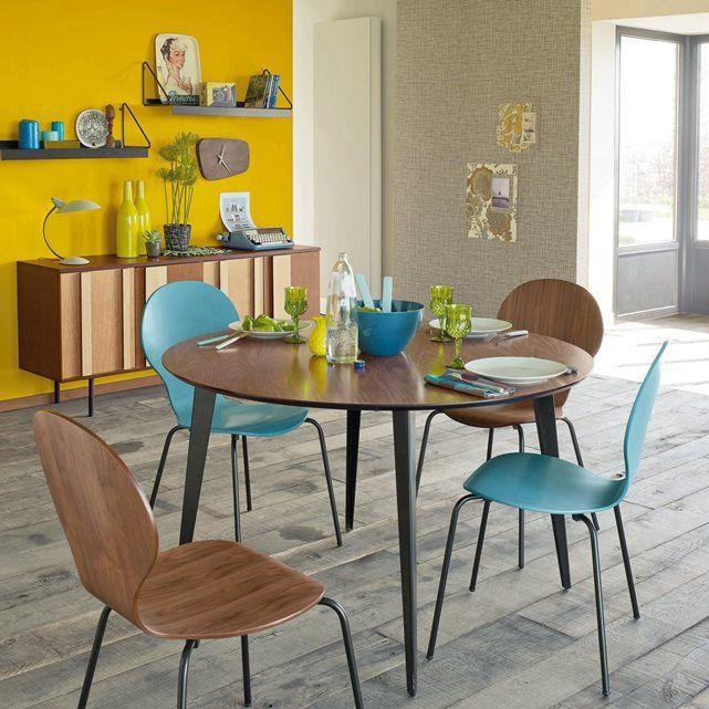 Table repas ronde vintage Watford La Redoute Interieurs