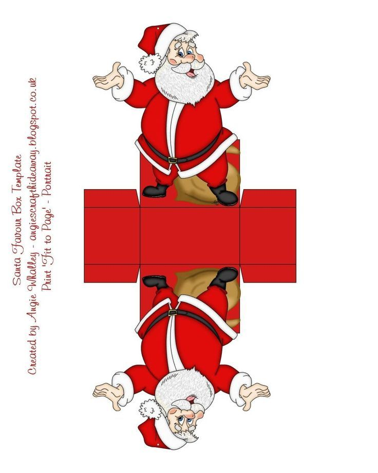 Best Mini Christmas Printables Images On   Boxes