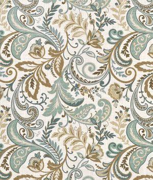 Swavelle Mill Creek Findlay Seaglass Fabric Fabrics