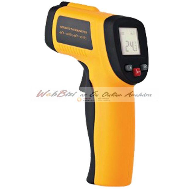 Laser digitális hőmérő