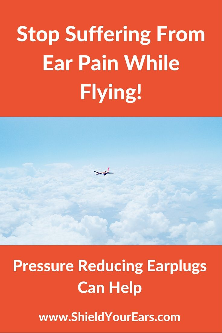 You only need to fly once to experience the pain in your ears from flying. But it doesn't have to be like that! Find out more about the top rated pressurized ear plugs.