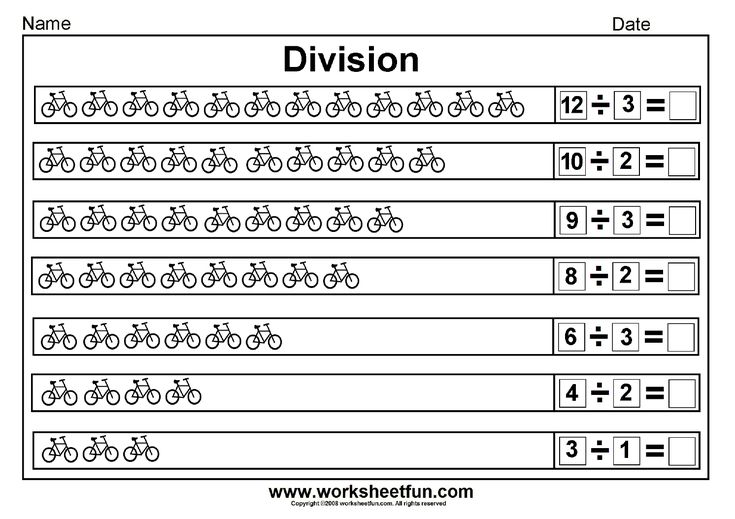 division worksheets on kiddos learning division worksheets maths. Black Bedroom Furniture Sets. Home Design Ideas