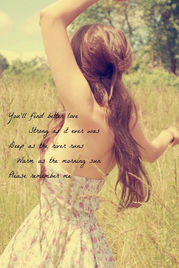 Please Remember Me — Tim McGraw