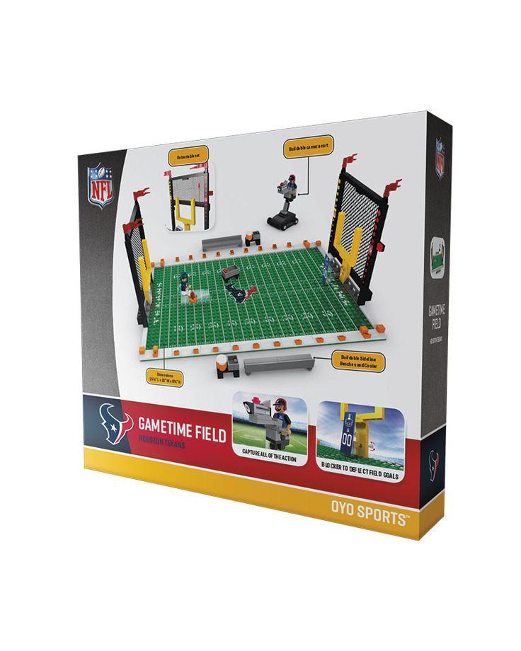 Houston Texans Football Team Gametime Set 2.0 OYO Playset