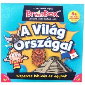 A BrainBox sorozat az abszolút kedvenc! BrainBox A világ országai #brainbox #okosodjvelunk
