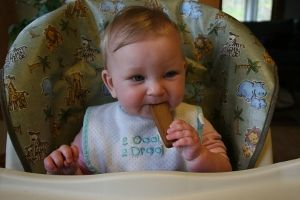 Have a teething baby?  Check out these recipes for organic teething biscuits, perfect for keeping your babies happy and healthy!