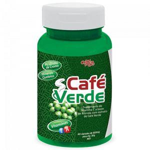 Café Verde (com  Vitaminas e Cromo) Chá Mais - 60 cápsulas