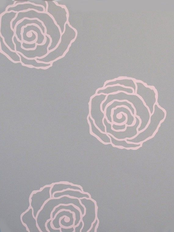Wall Decor And More 25+ best rose stencil ideas on pinterest | stencils, rose design