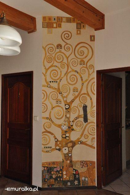 Drzewo Życia-według projektu Gustawa Klimta