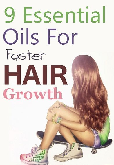 9 Essential Oils For Faster Hair Growth