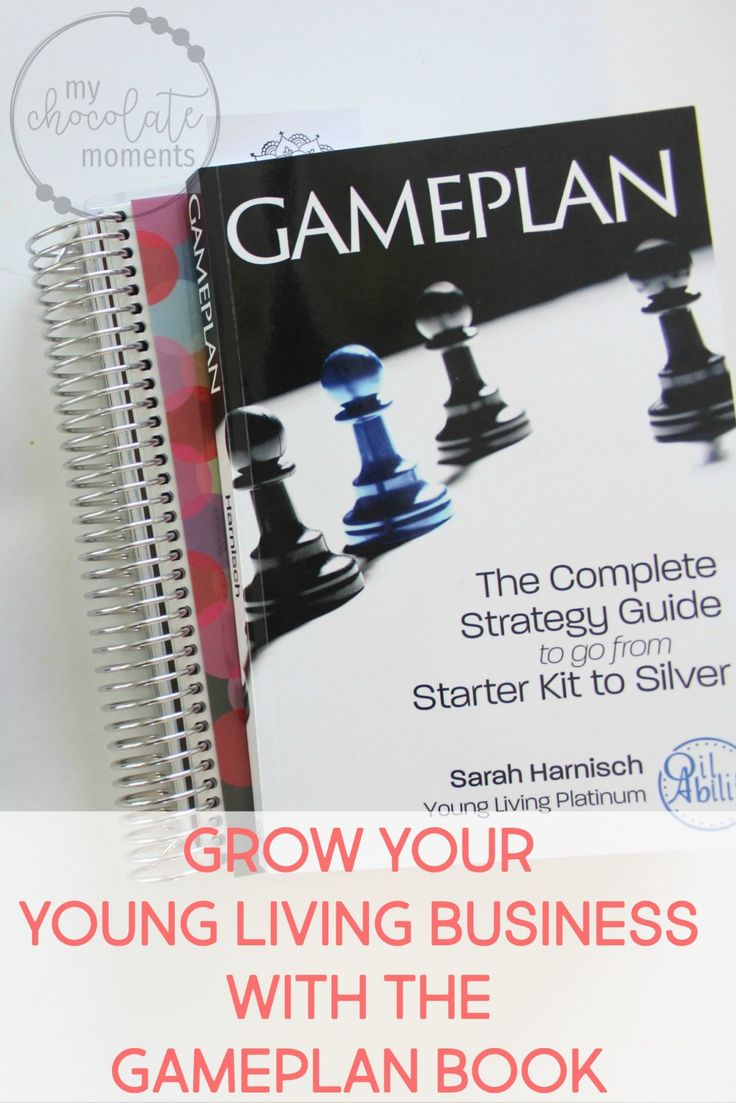 grow your Young Living business with the Gameplan book | Gameplan by Sarah Harnisch