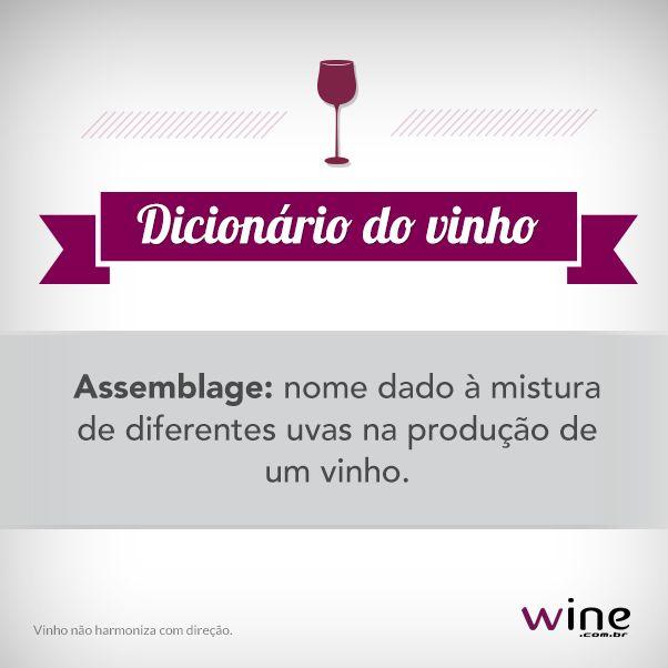 Sabe quando o vinho é varietal ou assemblage? Aprenda mais com a gente e experimente os vinhos! #wine #vinho #assemblage