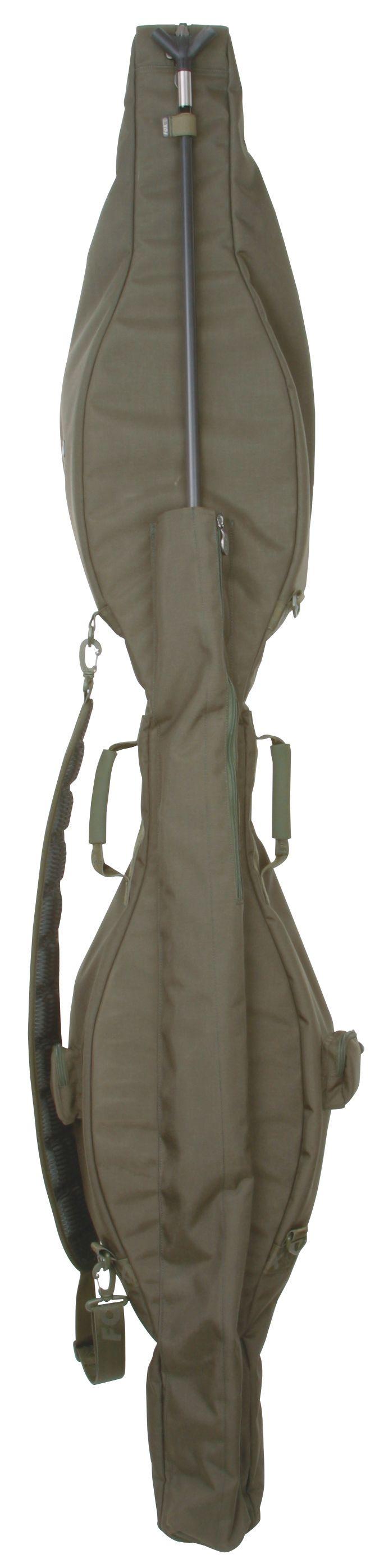 Sie bekommen für Ihr Geld die innovativste Angeltasche, die jemals entworfen wurde. Sie fasst fünf montierte Ruten und Rollen, drei stehend und zwei auf dem Kopf, sowie Ihre Banksticks,...