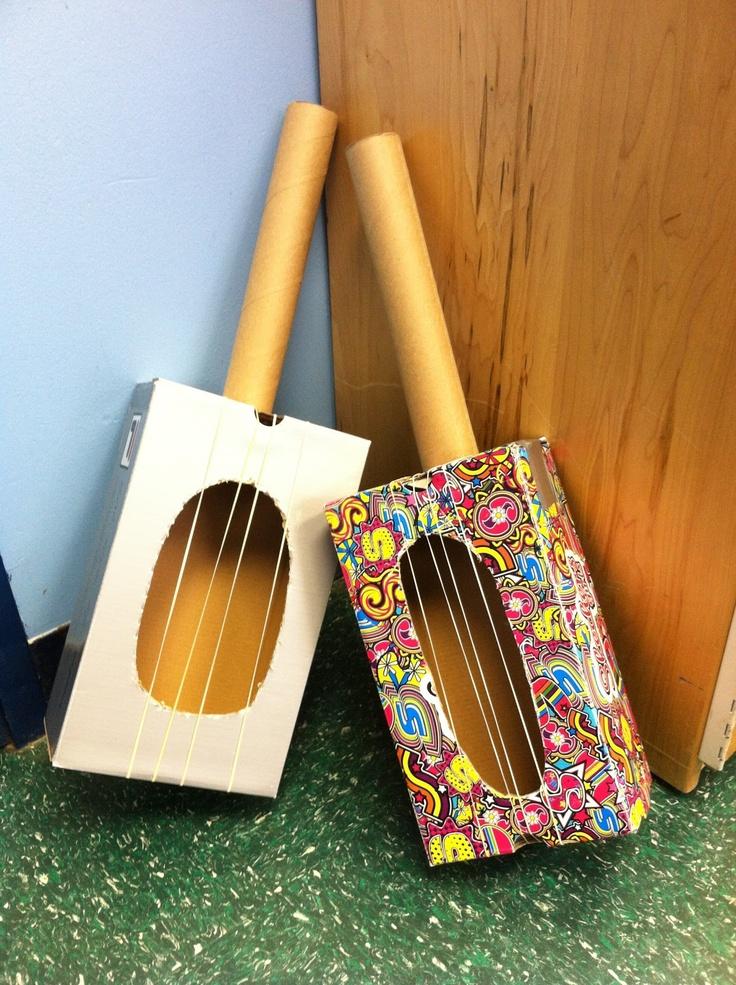Serendipitous Discovery: Gum Ball Machines and Guitars! #littlehandsbigplans