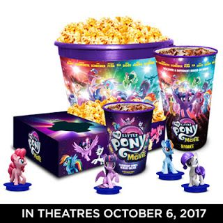 MLP The Movie Cinema Promotions + Figures Revealed